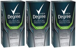 Degree Men clinical strength antiperspirant and deodorant, best men's deodorant for sensitive skin