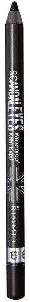 Rimmel Scandaleyes Waterproof Gel Eye Liner Pencil, Black 001. One of the best smudge proof eyeliner for waterline. best waterproof eyeliner pencil for waterline