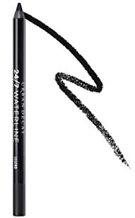 Urban Decay Heavy Metal Glitter Eyeliner, Midnight Cowboy - Gold Glitter - Water-Based Formula - Long-Lasting, Buildable, Best Quick Drying Eyeliner. best eyeliner for waterline that doesn't smudge